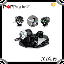 Poppas Yzl804 Good Quality Bicycle Light with 3 Xm-L T6 Waterproof Bicycle Light
