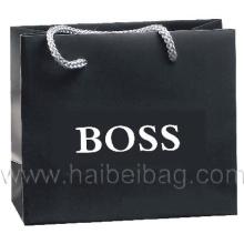 Promotion Papier Einkaufstaschen, Braun Kraftpapier Tragetasche (HBPB-21)
