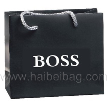 Promotional Paper Shopping Bags, Brown Kraft Paper Carrier Bag (HBPB-21)