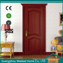 Cutomize roble puerta de madera interior de alta calidad