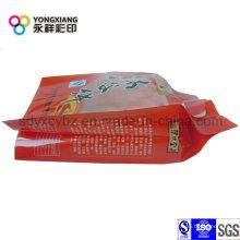 Paquete de plástico de refuerzo lateral de grado alimentario
