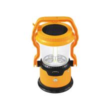 Солнечный светодиодный фонарик кемпинг с USB-зарядное устройство