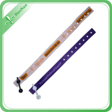 New Products Custom Design Promotonal Wristband with Press Button