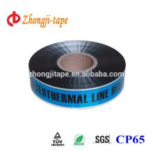 blue underground detectable warning tape