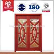 Porta deslizante de madeira maciça