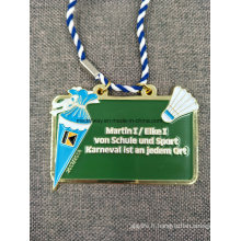 Médaille personnalisée en émail souvenir