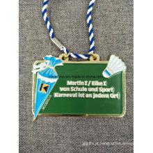 Medalha personalizada do esmalte da lembrança da carcaça de dado