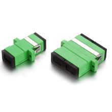 Sc / APC-SC / APC adaptador de fibra óptica dúplex