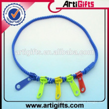 Collar de cremallera de plástico conjuntos de collar de lujo