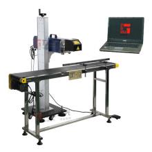 Фирменные таблички, джинсы, мебельная промышленность Лазерная маркировочная машина Cmt-10