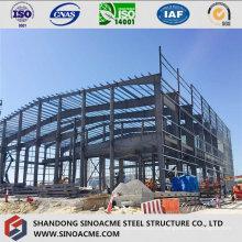 Bâtiment commercial à ossature d'acier avec mezzanine