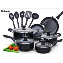 15 piezas de aluminio No utensilios de cocina de palo conjunto