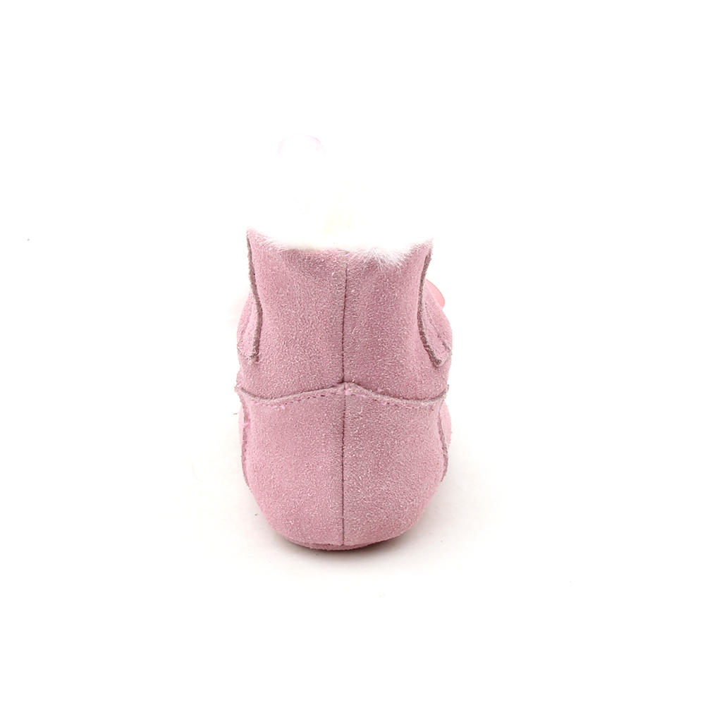 New Design Toddler Cute Pink Warm Baby Boots