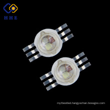High Power Led 3* 3W RGB 700mA Full Color 6 pins for Stage Lighting