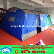 Outdoor big camping tunnel tent for 6-8 man