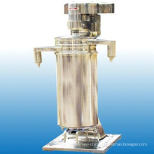 Virgin Coconut Oil Centrifuge Vertical Type 3-Phase Separation Tubular Rotate Oil Separator for Coconut/Purifier