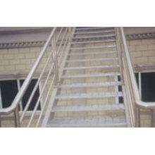 Échelle d'escalier ou d'escalier d'intérieur ou d'extérieur en acier