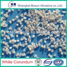 White fused alumina for abrasive tools