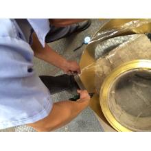 Bande de cuivre H65, H62 Cuivre pur avec MTC, rapport d'essai