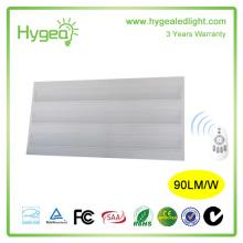 PS prisme couverture 600 * 1200mm 54w haute puissance led plat grille panneau de lumière, conduit de grille panneau de lumière avec CE, ROHS