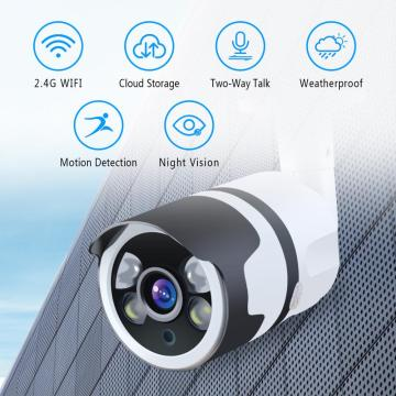 Telecamera cctv wireless 1080P Bullet per la sicurezza domestica