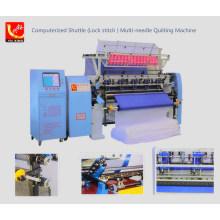 Computer Shuttle (Lock Stitch) Multi-Needle Quilting Machine