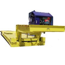 Detachable (removable) Gooseneck Lowboy Semi Trailer