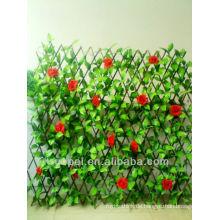 Gartendekoration grüne künstliche Hecke