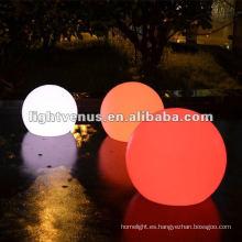 40cm IP68 Color impermeable que cambia las bolas de la decoración del LED bola de luz al aire libre del brillo del jardín