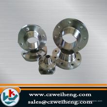 Fabricant professionnel cnc, usinage de pièces bride de pipe à eau sol