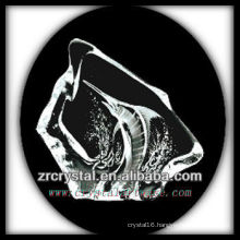 K9 Crystal Intaglio of Mold S051
