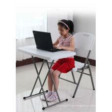 Höhenverstellbarer Kindertisch und Stuhl Set, Kinder Klapptisch und Stuhl Set