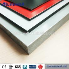 2017 material de construcción caliente de la venta 6m m grueso ACP con la capa de PVDF
