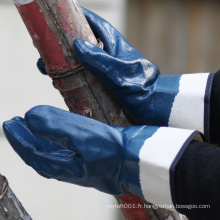 NMSAFETY EN388 4111 doublure en jersey enduit nitrile gant industriel
