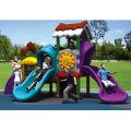 Amusement park outdoor full plastic playground equipments of (LE.QS.001)
