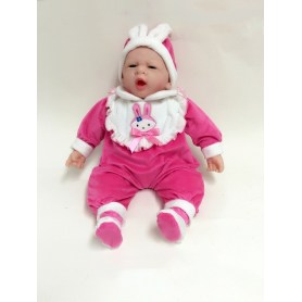"20 ""Open Mouth Sleeping Vinyl Baby doll"