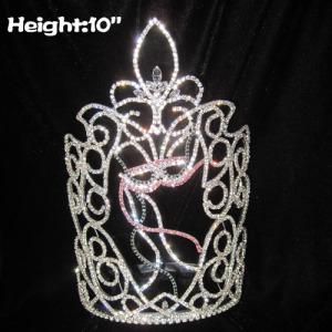 Grandes coronas de reina de desfile de carnaval al por mayor