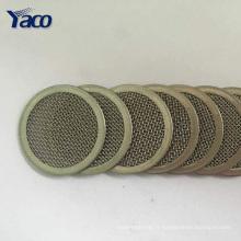 Maille d'écran de filtre de gaz fritté d'acier inoxydable de qualité supérieure