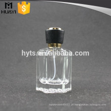 Garrafas de vidro vazias baratas do perfume do hexágono 50ml
