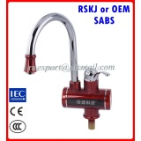 Kitchen appliance electric heat water faucets
