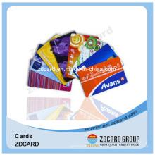 Carte polychrome / VIP / PVC / plastique