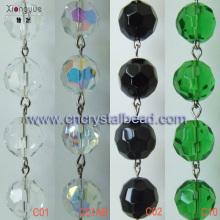 DL23 Cadenas de cuentas de cristal