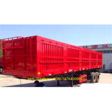 Tri-as 40 Ton Side Dumper Truck Trailer
