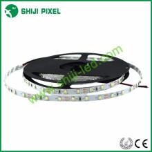 mini 5mm pcb epistar puce flexible couleur unie 3528 led bande de lumière 60leds / m, R / G / B / Y / W