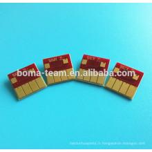 Nouveau! 4 puces de cartouche de couleur pour la puce de réinitialisation de HP 711 pour des traceurs de HP Designjet T120 T520
