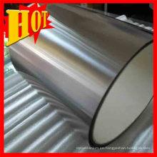 Tiras de titanio de 0,5 mm de espesor en inventario en venta