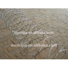 barbed wire netting