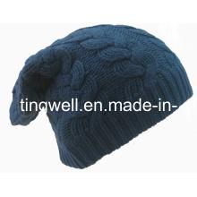 SGS chapeau tricoté en caoutchouc de mode (TWS-knit-014011)