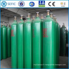 Cylindre industriel de gaz d'hydrogène sans couture de 50L (EN ISO9809)