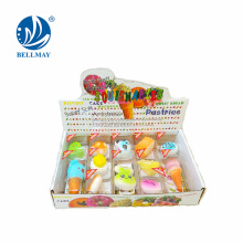 multiple simulation food box gift sets key chain toy for wholesale